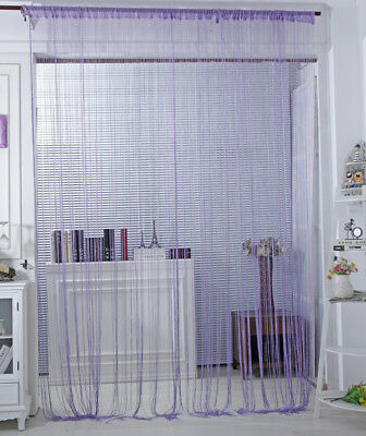 Image 5 - Fashion String Window Door Curtain Backdrop Blind Panel Tassels Valance Room Decor Living-in Curtains from Home & Garden