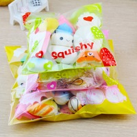 30 Pcs Pack Squishy Slow Rising Adorable Bread Cake Bun Pendant Donut Charm Toy Stretchy Squeeze