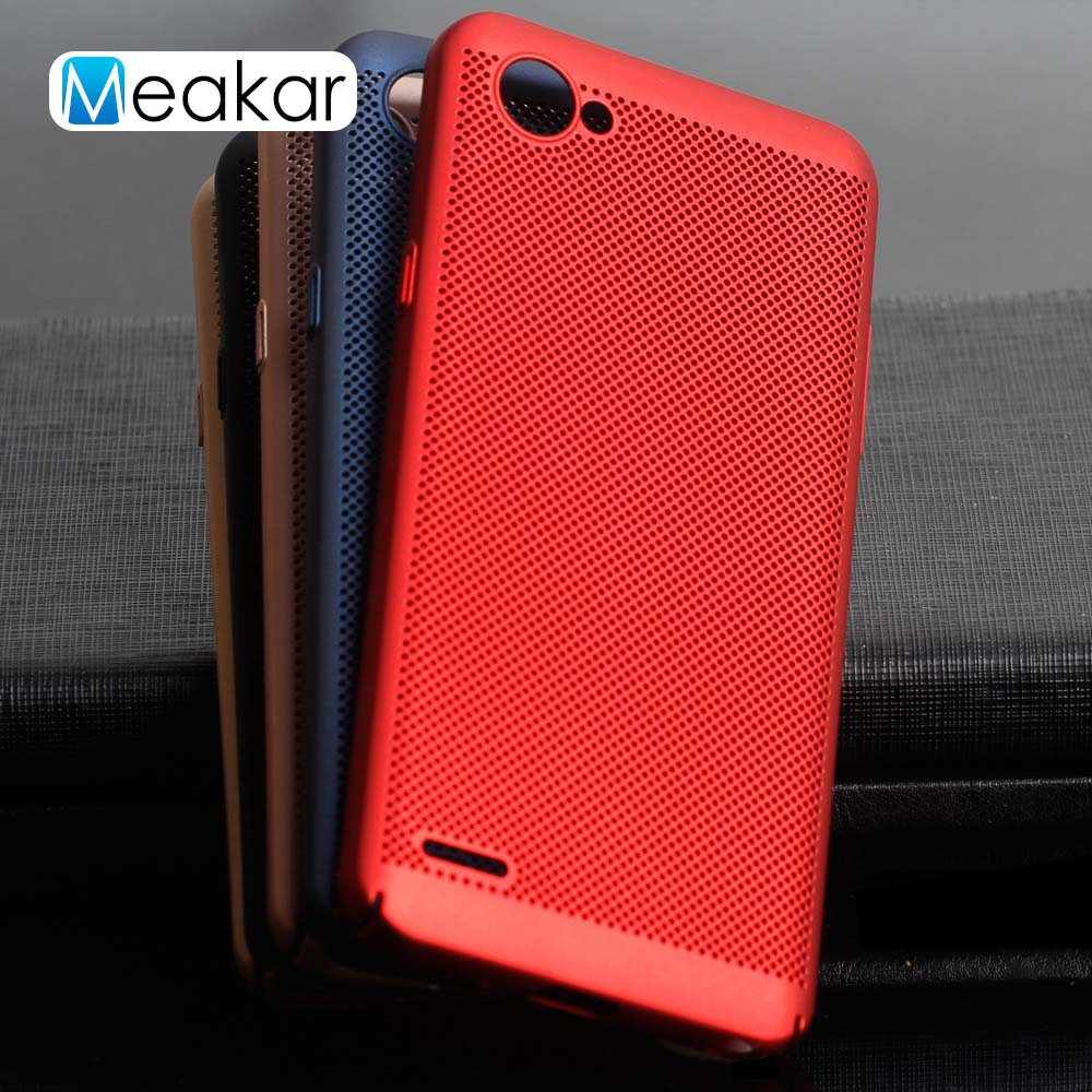 6daf8852c60 Mesh Heat Dissipation 5.5For LG Q6 Case For LG Q6 Cell Phone Back Cover Case