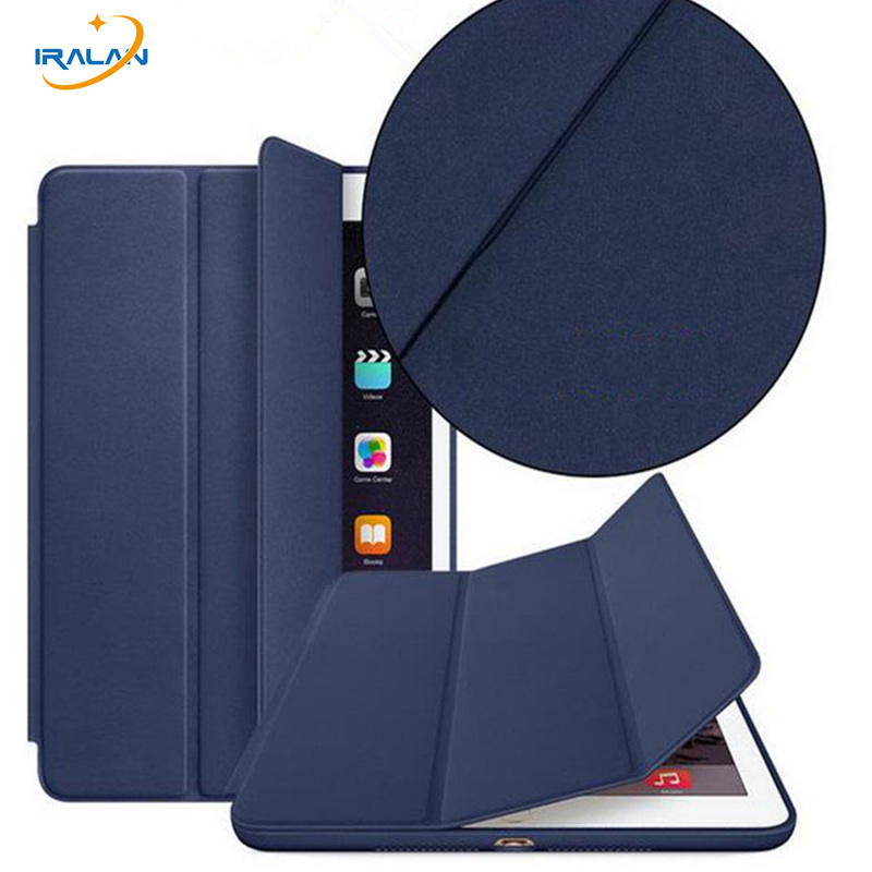 Official Original 1:1 PU leather magnetic Case for Apple iPad Pro 9.7 2016 A1673 smart Stand Flip Cover+Christmas gift+3 in 1 detachable official removable original metal keyboard station stand case cover