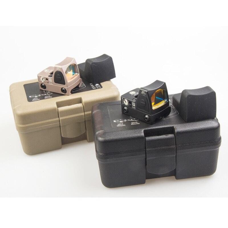 Hot Tactique RMR Style Reflex Red Dot Sight Portée pour Glock Chasse Fit 20mm Pictinny Rail et Airsoft Pistolet Rouge Dot
