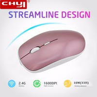Rechargeable Wireless Mouse Silent Button Ultra Thin Mute Optical Computer Mice Super Slim Matte Mouse Sem