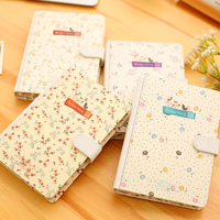2017 Creative Fresh Notebook Journal Diary Hard Cover Lined Cute Planner School Study Notebook Memo Agenda