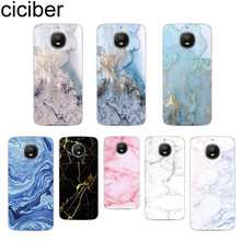 ciciber Colorful Marble For Motorola Moto C Z2 Z3 ONE G5 G4 G5S G6 P30 E3 E4 E5 Plus Play Power X4 M Soft Clear TPU Phone Cases