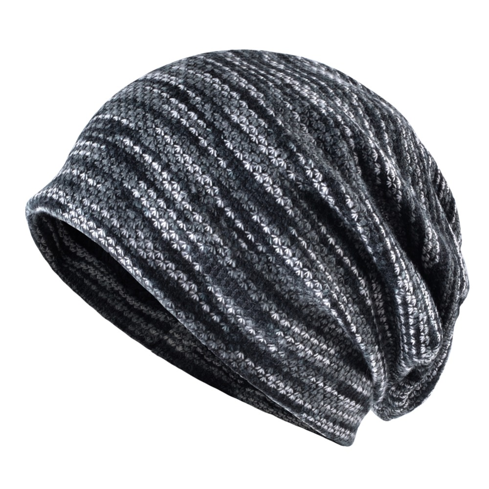 Beanie Hat - Autumn Winter Lengthened Skullies Wool Beanie