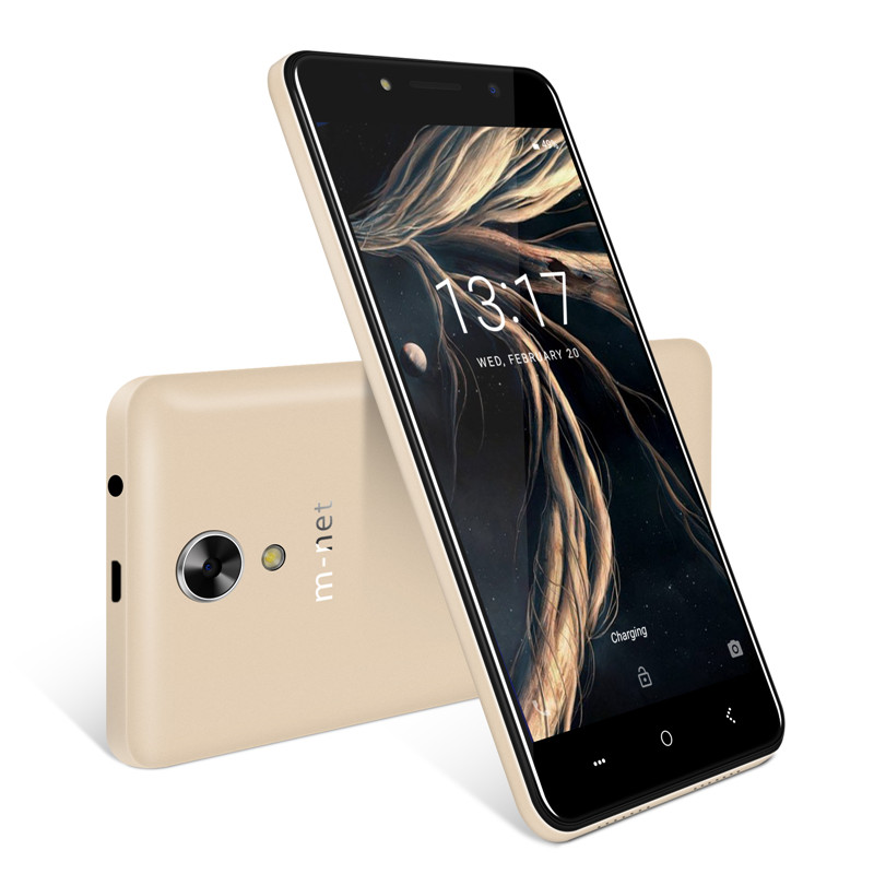 M-HORSE Power 1 Mobile Phone 5050mAh 5.0 Inch Android 7.0 1GB RAM 8GB ROM MTK6580 Quad Core Dual 5MP Camera 3G Smartphone