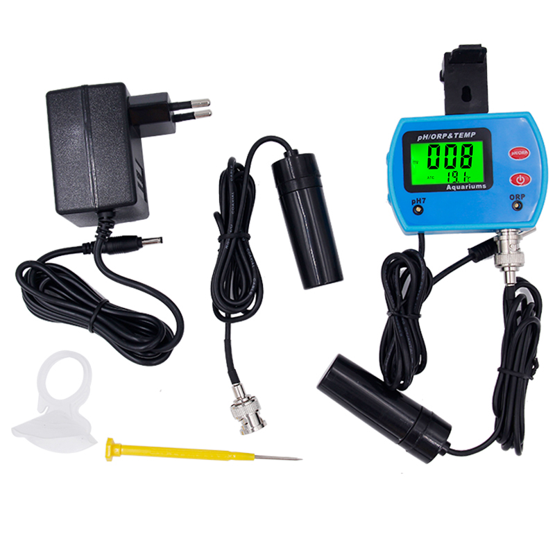 By DHL Fedex 5pcs/lot Multi-parameter 3 in 1 ORP & TEMP Meter Redox Potential Tester pH temperature Water Quality  Monitor Tool digital indoor air quality carbon dioxide meter temperature rh humidity twa stel display 99 points made in taiwan co2 monitor