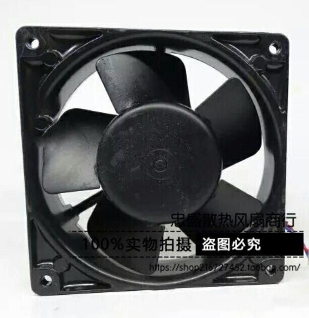 Original W2G107-AD03-01 12038 12CM 24V3.3W 120 * 120 * 38MM Axial Fan Inverter Fan original ebmpapst w2g107 ad03 13 12cm 12038 24v3 3w full metal cooling fan