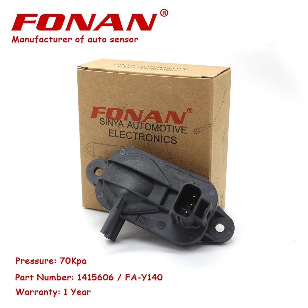 3M5A5L200AB <font><b>1415606</b></font> DPF Differential Exhaust Pressure Sensor For Land Rover FREELANDER 06 2.2D 2006- MAZDA 3 S-max 1.6CITD 08- image