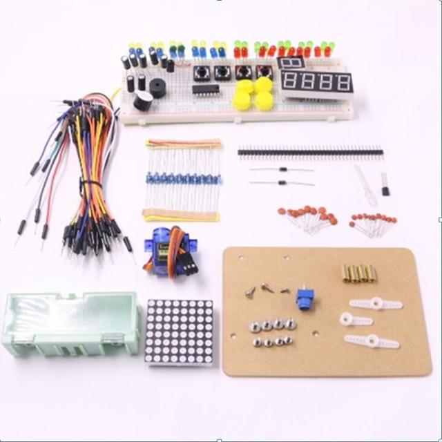 Electronics fans package E learning suite with original box for arduino uno kit