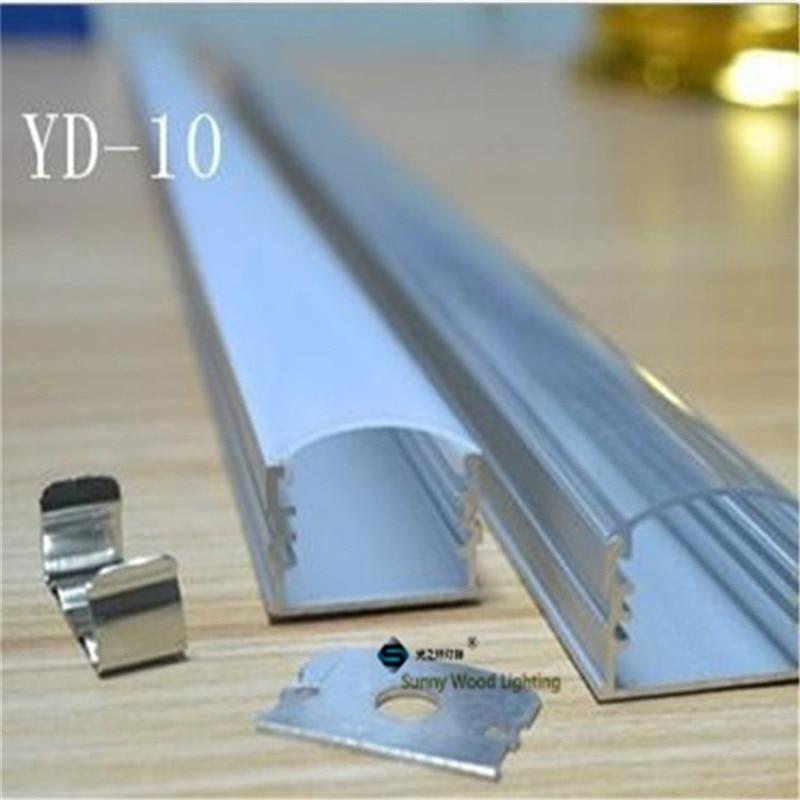 10pcs/lot 40inch 1m led bar light housing,W25H18 aluminium profile for 20mm  pcb
