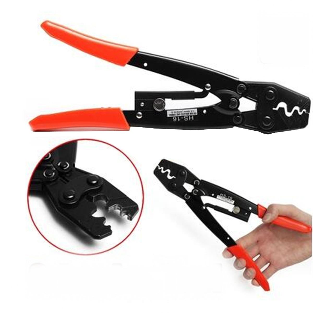 HS-16 Alicate de Friso Alicate de Arame Cortador de Cabo Lug Crimper Ferramenta Terminal Nua 1.25-16 Milímetro Quadrado Cortadores de Corte De Mão ferramenta