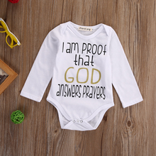 God Answers Onesie