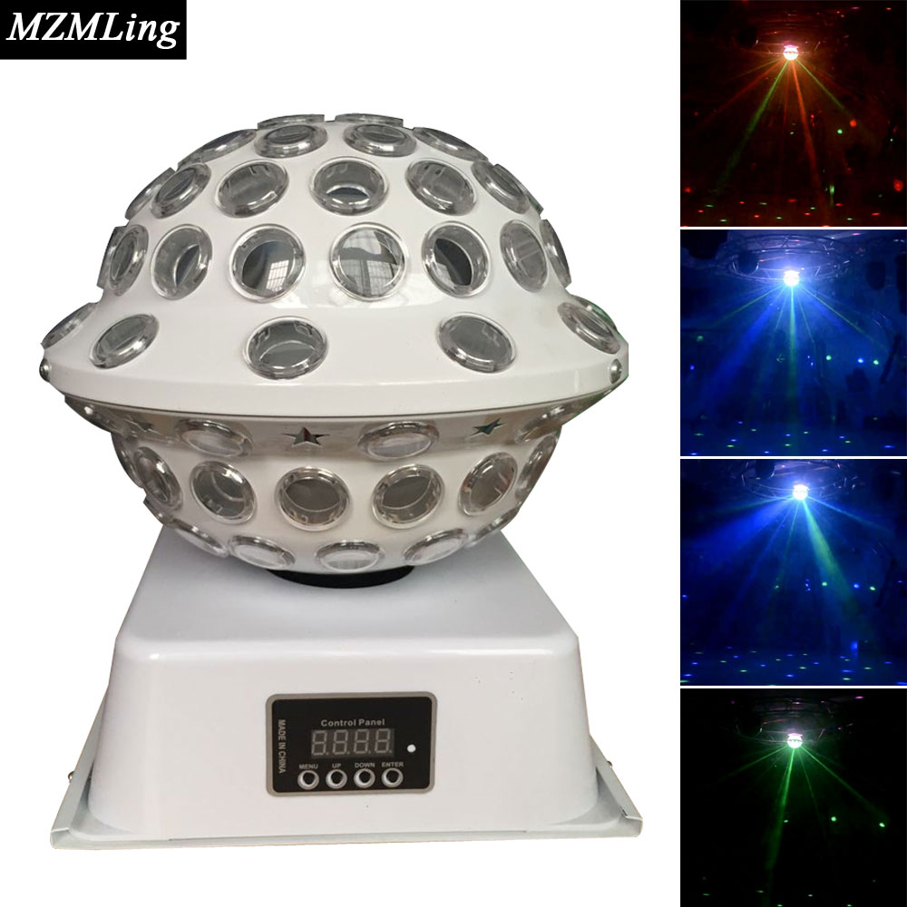 6x3w Led Effect Light DMX512 DJ /Bar /Party /Show /Stage Light LED Stage Machine rg mini 3 lens 24 patterns led laser projector stage lighting effect 3w blue for dj disco party club laser
