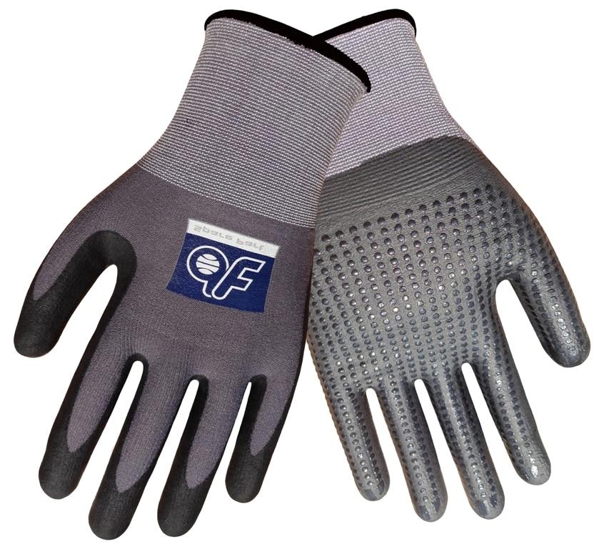 4 Pairs Safety Glove Sarung Tangan Kerja Nylon Dengan Nitrile Palm Foam Dipped Gardening Glove