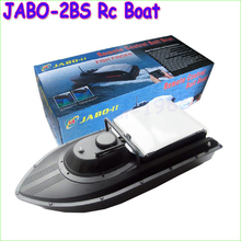 1pcs New JABO-2BS Remote Control Bait Boat With Fish Finder Upgrade Eiditon of JABO-2B Jabo 2bs 2b RTR RC boat