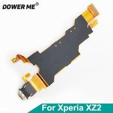 Dower mi złącza USB typu C stacja ładująca Port ładowania wstążka Flex kabel do Sony Xperia XZ2 H8216 H8266 H8276 H8296