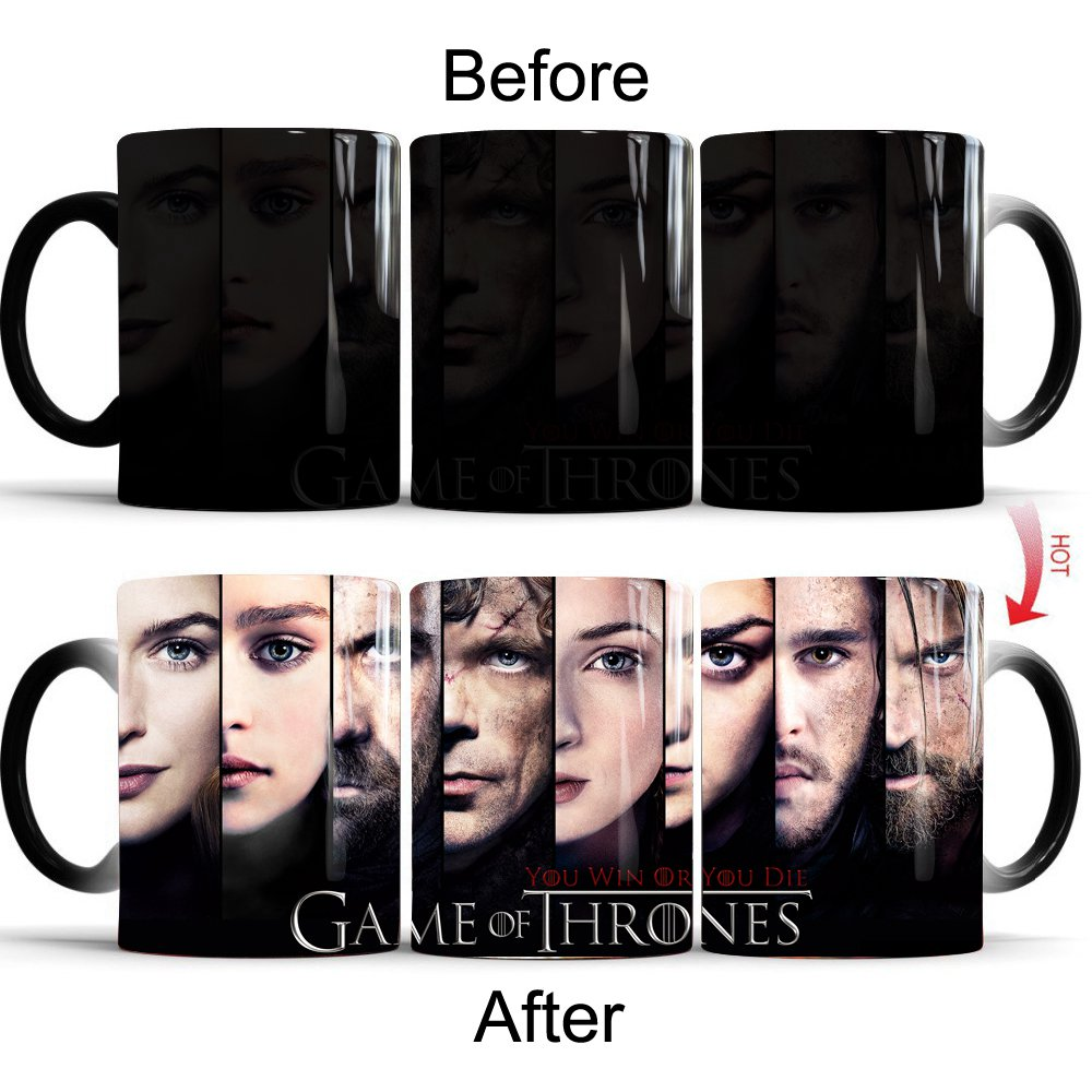 Color Changing Mug Game Of Thrones 12