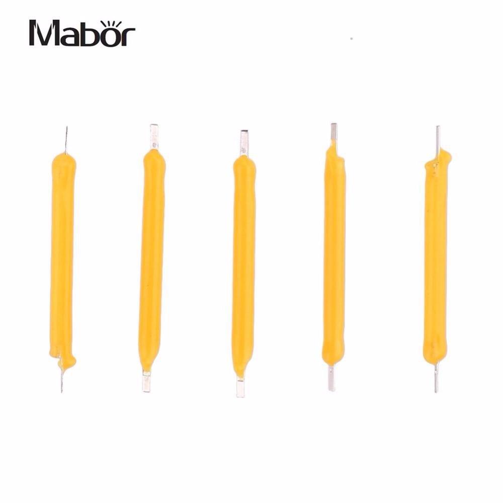 Mabor pçs/set em série cob led 1 w dc12v 130lm filamento lâmpada vela fonte de luz accessaries iluminação diy