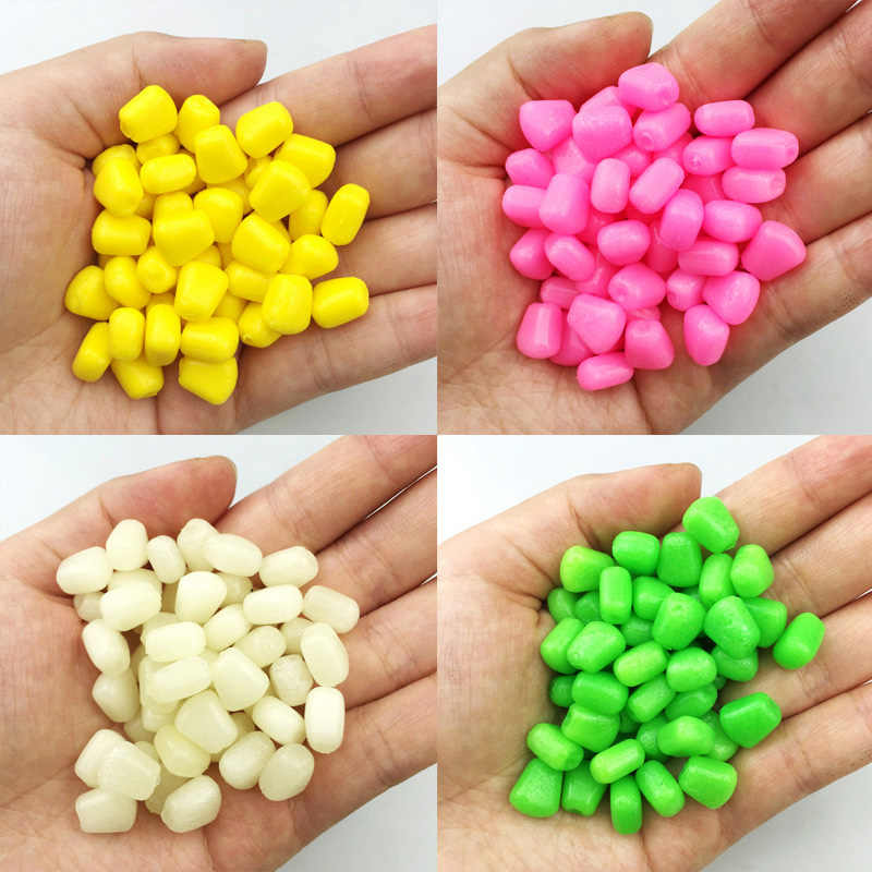 Hot Sale 10pcs/lot Colored Pop Up Carp Fishing Boilies Flavoured Grass Carp Bait Floating Corn Soft Artificial Bait 0.4g/pcs new 100pcs carp fishing corn bait 5 colors soft baits simulation corn soft fishing lure tackles with strong corn smell fa 331