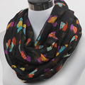 Free shipping  ladies' animal dog infinity scarf  Women's pets  loop scarf Accessories cloth Gift Idea