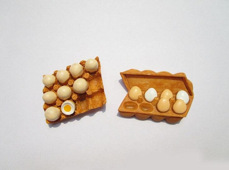 1 Pcs New Arrivals Cute Artistic Meals Form Fridge Magnets Cute Eggs fashion Ornamental Fridge Memento Sticker House Decor HTB1LV0abvDH8KJjy1Xcq6ApdXXaI