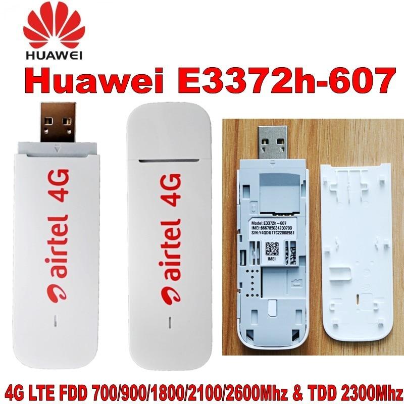 Unlocked HUAWEI E3372h-607 150Mbps 4G LTE Modem Dongle USB Stick