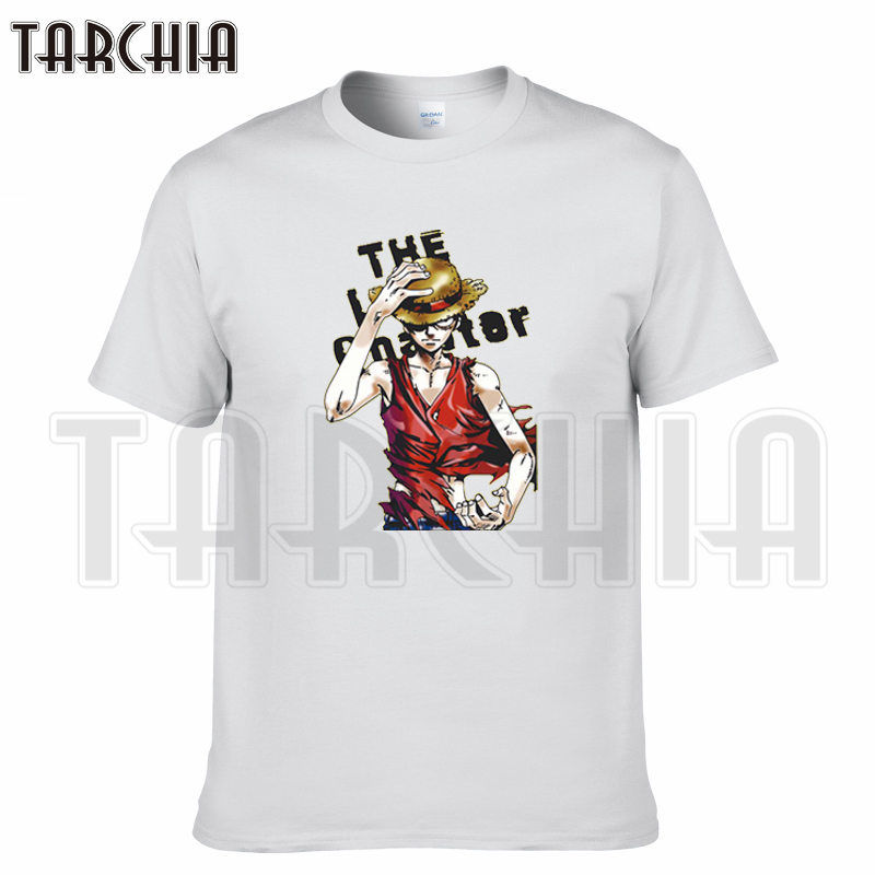 TARCHIA 2019 new summer brand t-shirt cotton Luffy tops tees men short sleeve boy casual homme tshirt t plus fashion