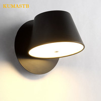 Creative Iron Wall Lamp Aisle Balcony Living Room Light Stairs Wall Sconce Modern Simple Lampara LED Pared