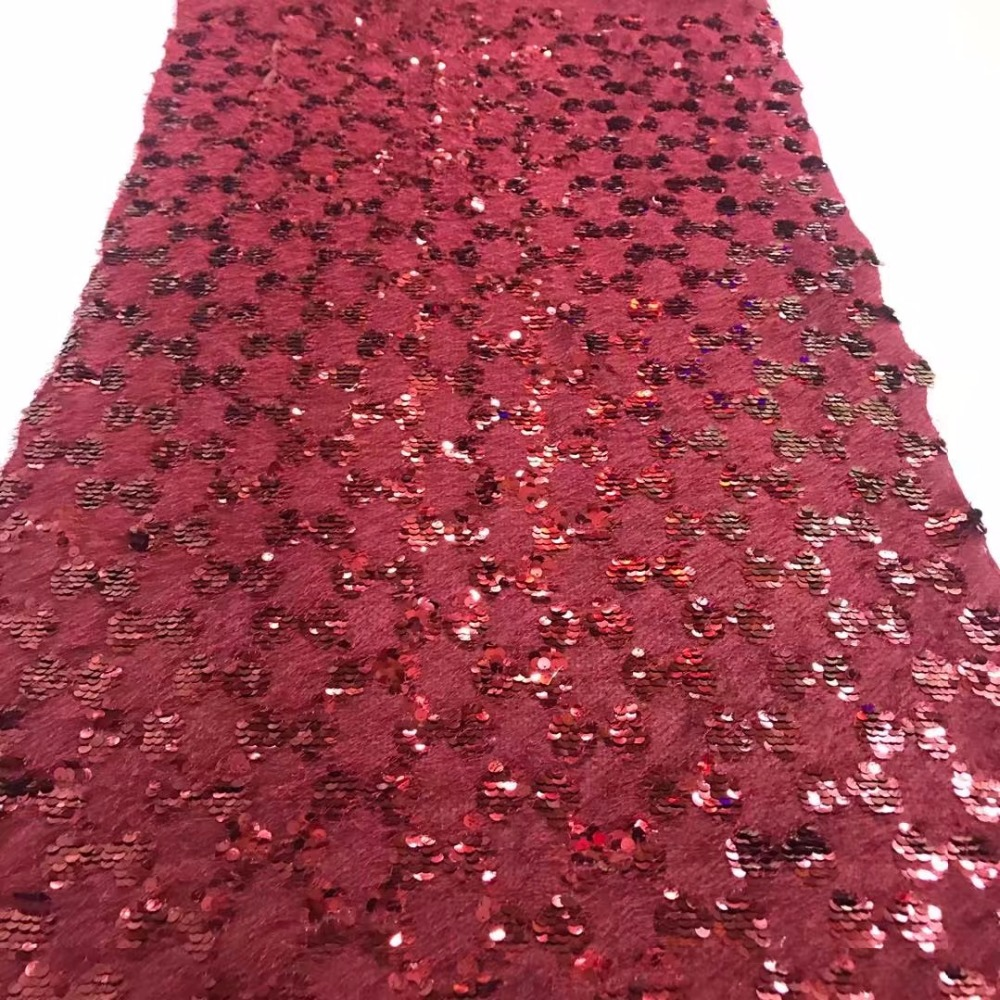cheap lace fabrics with free shipping burgundy lace fabric embroidery sequins  fabric for dress glitter lace fabric5yard lotCD137USD 94.00 piece 1be014e39e0a