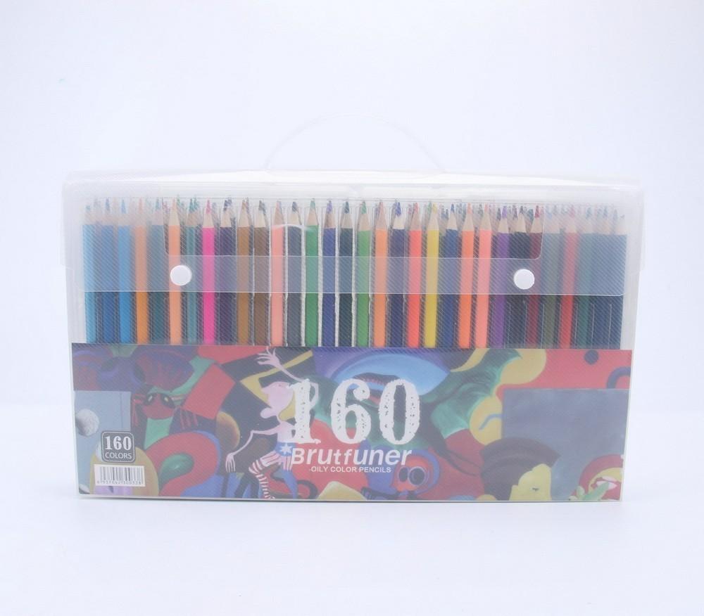 Fashion 160 smooth oily water-insoluble pencil bright comics graffiti color lead school supplies NEW fashion 160 smooth oily water insoluble pencil bright comics graffiti color lead school supplies new