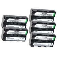 5pcs NP-F550 NP F550 NPF550 Rechargeable Li-ion battery (2600mAh) for Sony NP-F330 NP-F530 NP-F570 NP-F730 NP-F750 Hi-8
