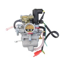 GOOFIT 30mm GY6 250cc Carburetor Carb For CF250  Choke Motorcycle Carburettor ATV Go Kart Moped Scooter N090-137