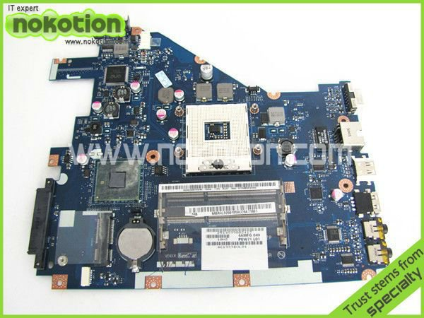 ФОТО laptop motherboard for ACER 5742 NV55C LA-6582P INTEL HM55 INTEGRATED DDR3 Mother Board high quality