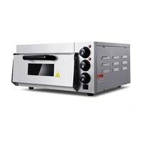 20L электрическая печь для пиццы из нержавеющей стали печь для выпечки хлеба электрическая одинарная хлебная печь Печь для пиццы EP 1ST
