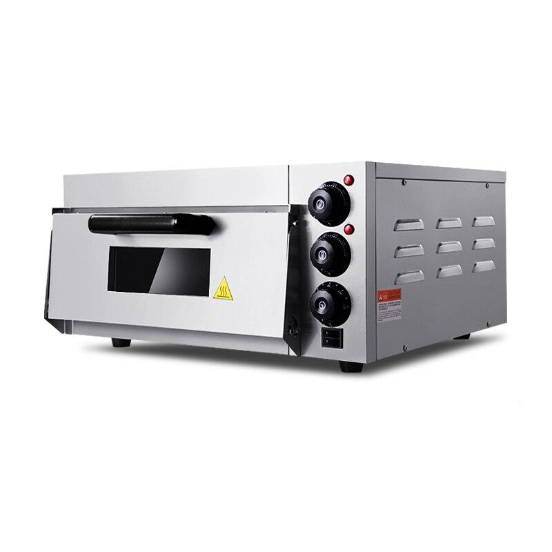 20L four à Pizza électrique four en acier inoxydable cuisson pain électrique four à pain unique four à Pizza Machine EP-1ST