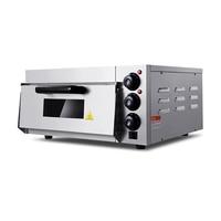 20L الكهربائية البيتزا فرن فرن من الفولاذ المقاوم للصدأ الخبز الخبز الكهربائية واحدة فرن لخبز العيش البيتزا فرن آلة EP 1ST-في أفران من الأجهزة المنزلية على