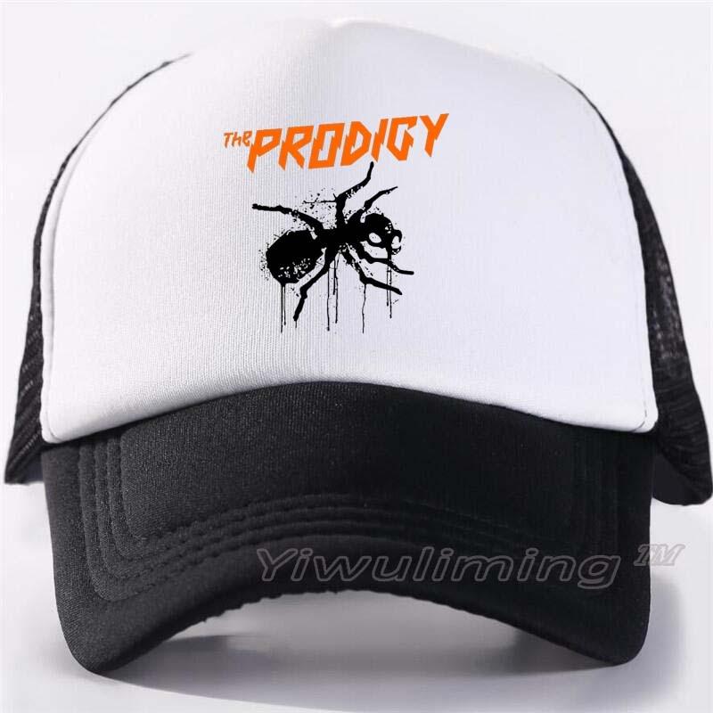 New Summer Trucker Caps The Prodigy   Cool Summer Black Adult Cool Baseball Mesh Net Trucker Caps Hat For Men Adjustable