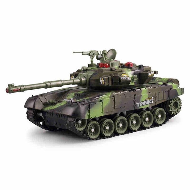 10 canaux télécommande réservoir russe T90 Camouflage bataille réservoir voiture jouet pour enfants grande taille 43 cm