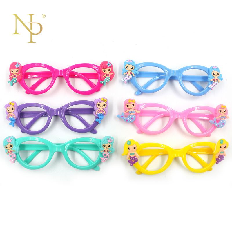 Cute Wedding Party Ideas: Nicro Cute Glasses Frame Birthday Party Decorations Kids