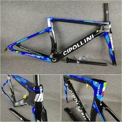 Camouflage Blu T1000 3 K/1 K Carrowter Bicicletta Cipollini NK1K Strada Del Carbonio Telai Bici con BB68/BB30 opaco/Lucido
