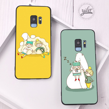 Cute Bear for Samsung Galaxy Note 9 Case S10 Plus For S7 Edge S8 S9 S10e A8 2018 A530