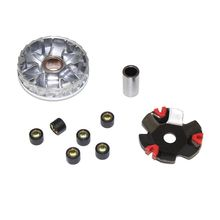 Hot Racing Variator Kit with gram Roller 80cc Drive plate for Chinese Scooter Moped ATV 4-Stroke GY6 Engine Front Clutc high performance cvt variator kit with roller weights drive pulley for jog 50cc 90cc scooter moped