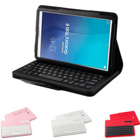 PU Leather Case with Bluetooth Keyboard For Samsung Galaxy Tab E 9.6inch T560