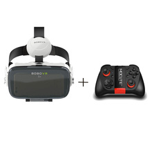 BOBOVR Z4 Virtual Reality 3D Glasses VR Box 120 Degrees Large Field of View with Built-in Stretchable Earphones for 3.5-6.0 Inch