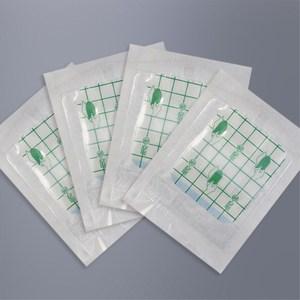 Image 2 - 10 pcs 6X10 cm Estéril Curativo Band Socorros Médicos À Prova D Água Transparente Fita Respirável Umbigo Pasta de Banho band aids Ataduras