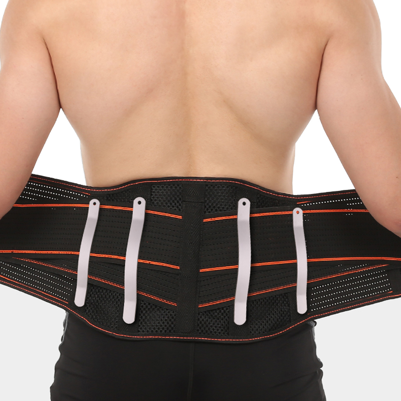 Tourmaline Self-heating Magnetic Therapy Waist Support Belt Lumbar Back Waist Support Brace Elastic Back Brace Posture Corrector