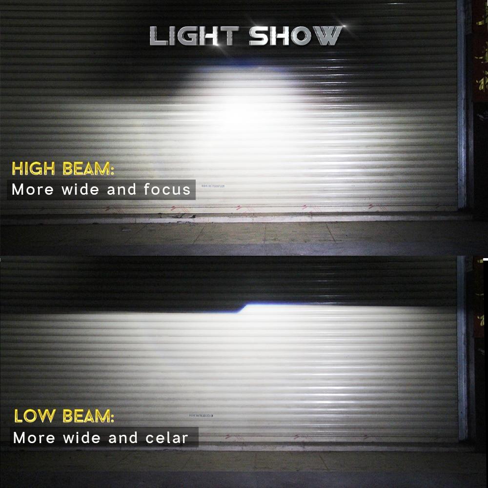 Buildreamen2 H4 Mini Projektor Objektiv Hallo/Lo Bi Xenon HID Xenon Kit AC Ballast Auto Scheinwerfer High Low strahl 55 W 4300 K 6000 K 8000 K - 6