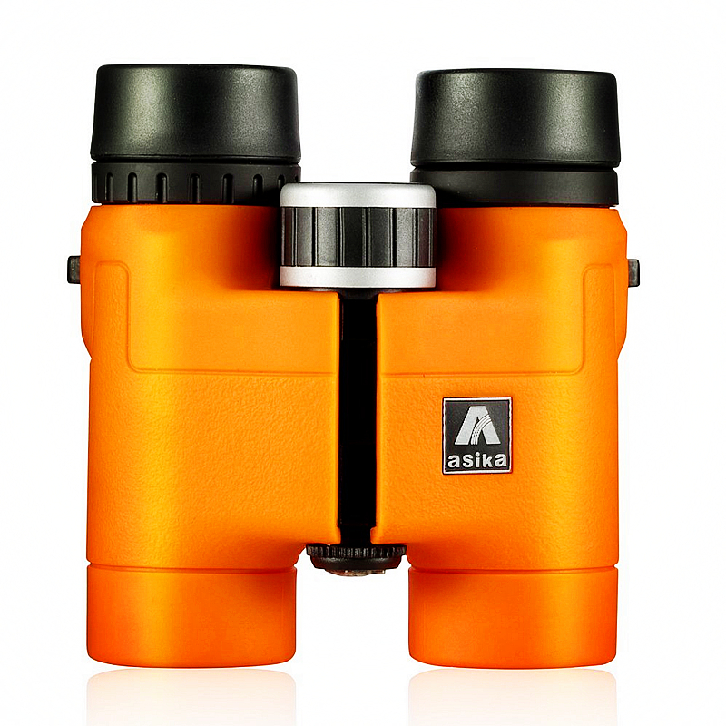 Sika Compact Binoculars for Bird Watching 8x32 HD Military Telescope for Hunting and Travel with strap High Clear Vision Orange цена и фото
