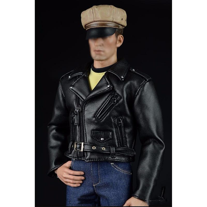 A007B 1/6 Men Hippie Motorcycle Leather Suits &Jeans Pants Models For 12'' Figures Male Bodies в магазине духи escada ibiza hippie